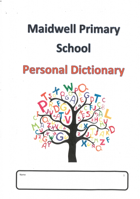 Dictionary Front Cover