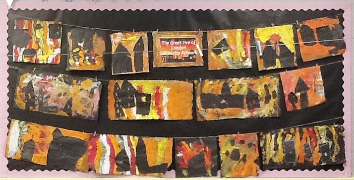 Class 1 Great Fire of London Display