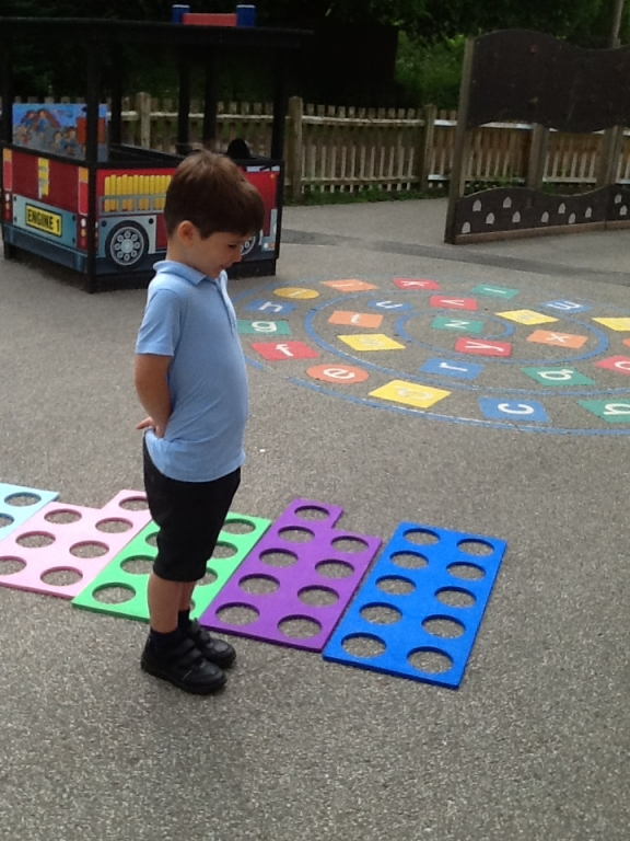 Large Numicon ordering Class 1.d
