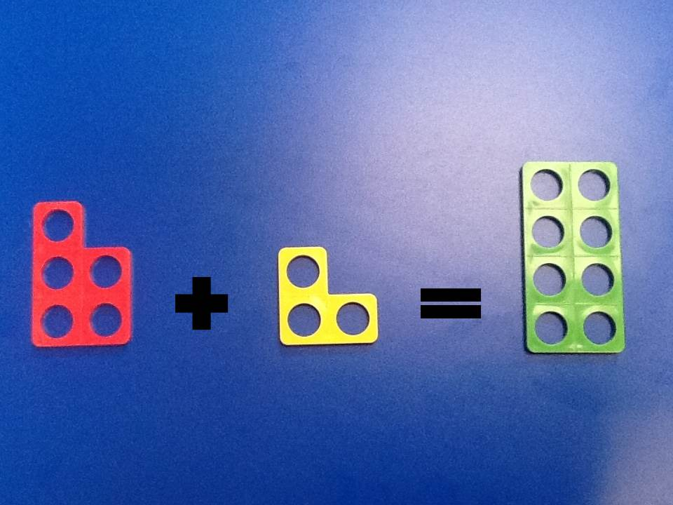 Numicon addition number sentence Class 1
