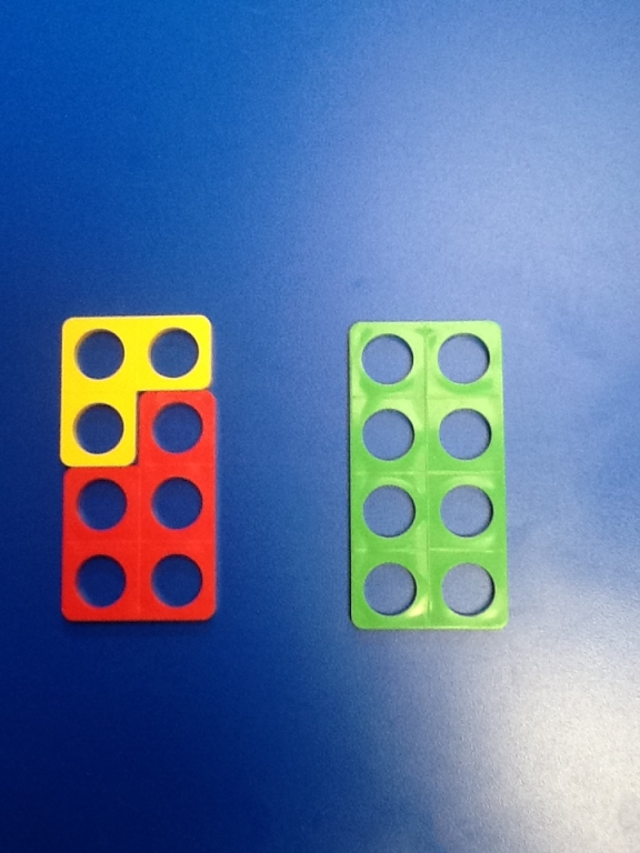 Using Numicon to make numbers