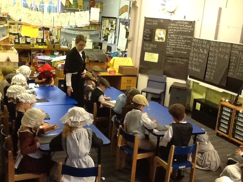 Victorian Day whole class taking part